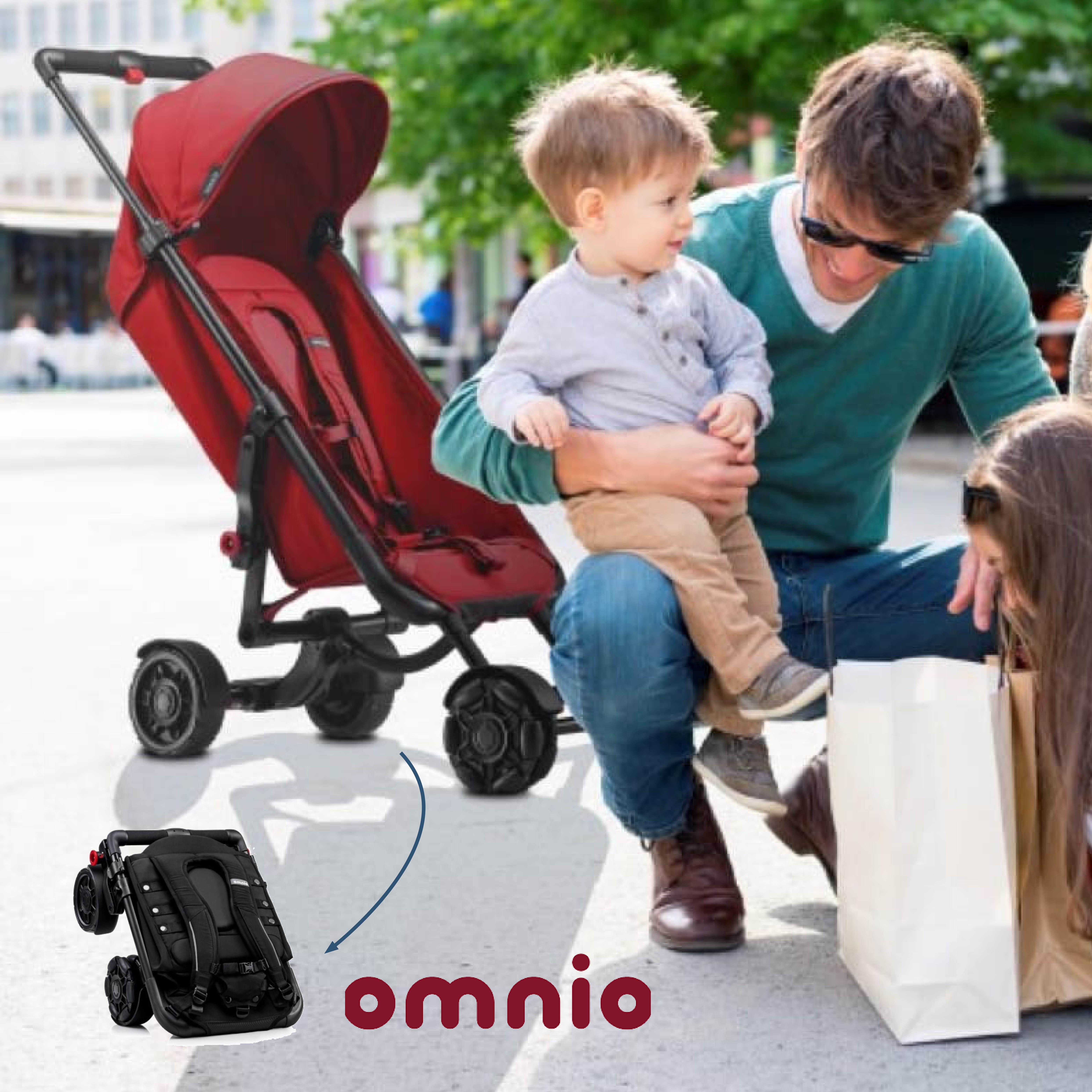 Omnio Stroller: Veelzijdig comfort voor zowel kind als ouder!