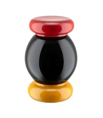 Alessi ES18 Zout-, peper- en specerijenmolen - black