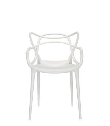 Kartell Masters stoel-Wit per 4