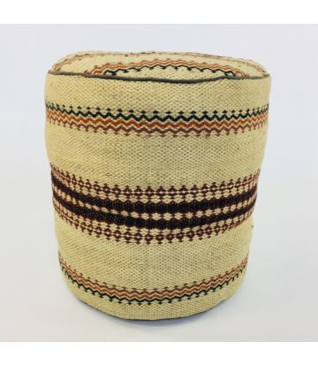 Asian Mood Jute Pouf AMA-832