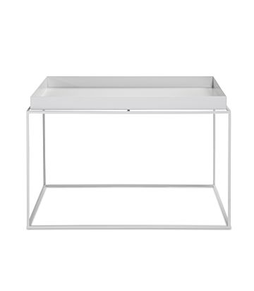 Hay Tray Table Coffee square -white-