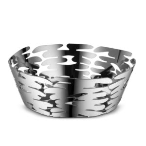 Alessi BM10/18 Barket Fruitmand-zilver