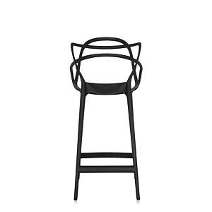 Kartell Masters Barstoel - 65 cm-Zwart-