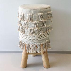 Asianmood Barsi houten krukje