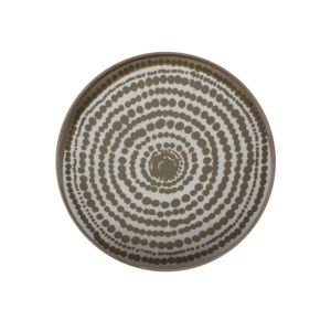Notre Monde Gold Beads Tray - 61 x 61 x 4 cm 1