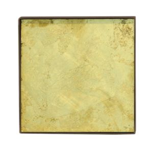 Notre Monde Organic Mini Glass Tray - NM Maat: Small - NM mini Gold Leaf 2