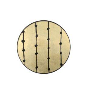 Notre Monde Brown Dots Tray - 48x48x4cm 2