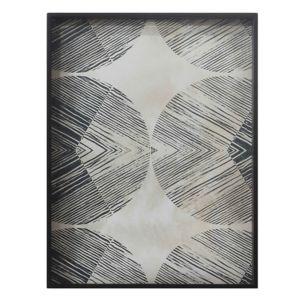Notre Monde Chevron Tray - 61x46x5cm 2