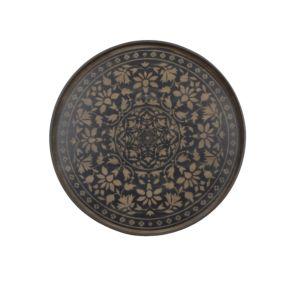 Notre Monde Black Marrakesh Tray - 61 x 61 x 4 cm 2