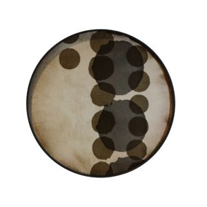 Notre Monde Slate Layered Dots Tray - 61x61x4cm 2