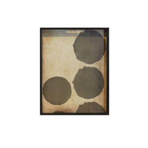 Notre Monde Pinot Layered Dots Tray - 48x48x4cm 2