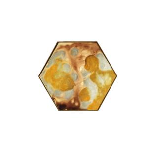 Notre Monde Yellow Organic Mini Tray - HEX/S 2
