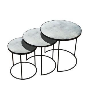 Notre Monde Nesting Side Table Set of 3 1