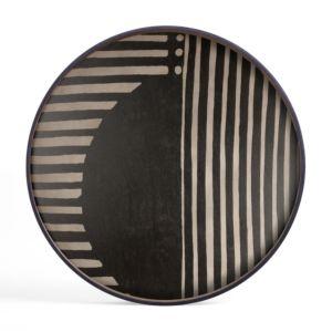 Ethnicraft Asymmetric Dot wooden Tray XL