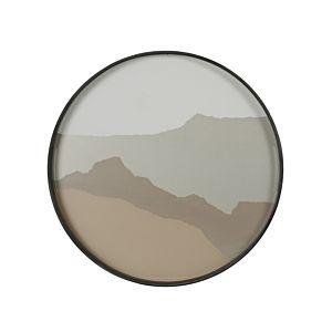 Notre Monde Sand Wabi Sabi  - glazen tray  - RO/S