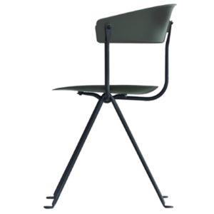 Magis Officina stoel - Kleur Donkergroen - Frame: Zwart