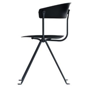 Magis Officina stoel - Kleur Zwart - Frame: Zwart