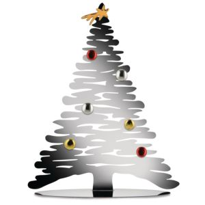 Alessi Kerstboom magneetbord - Kleur Chrome