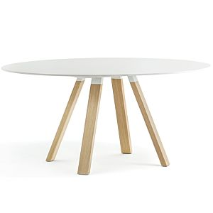 Pedrali Arki-Table Wood Wit Rond