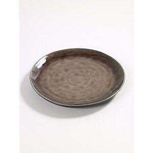 Serax Pure Rond bord - set van 4 - Brown - Small