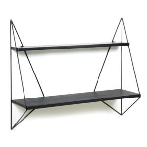 Serax Butterfly shelf single black wood