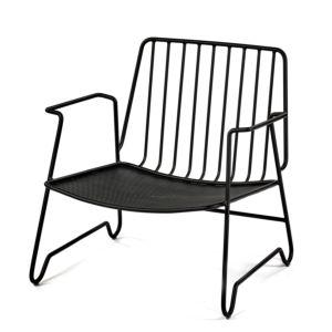 Serax Paola Navone lounge armchair - zwart 1