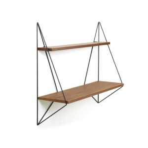 Serax Butterfly shelf single brown wood