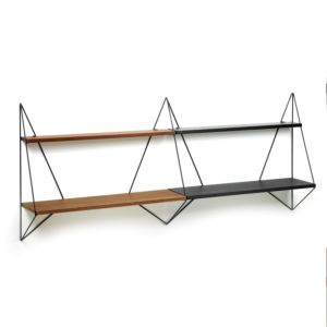 Serax Butterfly shelf double mixed