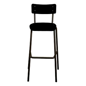 Les Gambettes Barstoel Suzie - 75 cm - zwart