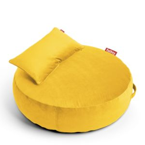 Fatboy Pupillow Velvet - pouf-Maize Yellow