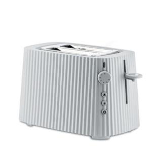 Alessi, toaster, Plissé, wit, blanc, mixeur, 8003299446605, MDL08 W Plissé