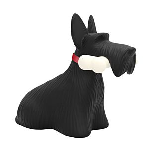 Futureproofedshop Qeeboo Scottie lamp - zwart