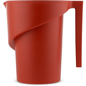 Alessi Twisted maatbeker - Color : Red 3