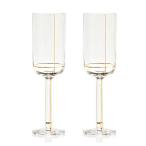 Hay Colour Glass Gold Champagne (per 6)