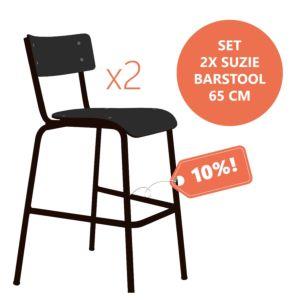 Les Gambettes set Suzie Barkrukken - 65 cm