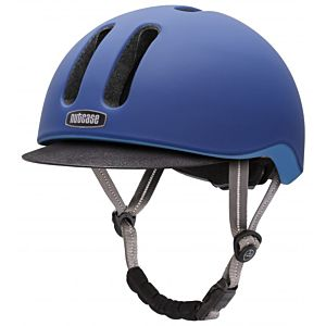 Nutcase Metroride Sapphire Matte fietshelm