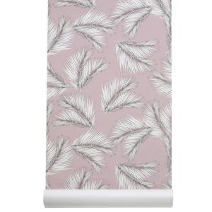 Les Gambettes Côme Behangpapier - Palm