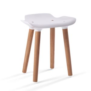 Quinze & Milan Pilot Stool White