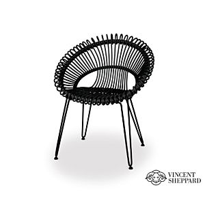 Vincent Sheppard Roxy Dining Chair black
