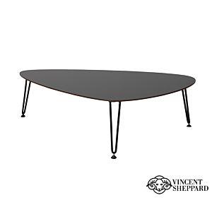 Vincent Sheppard Rozy Table M zwart HPL Vincent's Garden Roy Outdoor