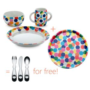 Alessi Alessini kinderservies