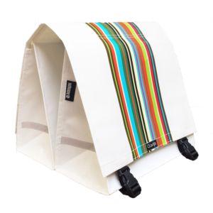 Nutcase Clarijs bike bag XL Technicolor