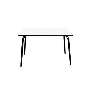 Les Gambettes tafel Vera - 7120x70cm - wit onderstel