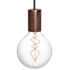 Tala Zion LED Pendel walnoot