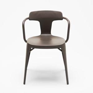 Tolix T14 stoel chocolat mat