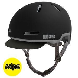 Nutcase Tracer Midnight Black Matte MIPS fietshelm