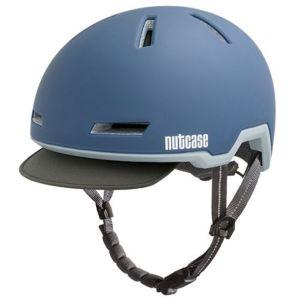 Nutcase Tracer Storm Blue Matte fietshelm