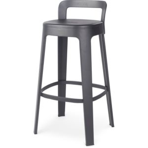 RS Barcelona Ombra Bar Stool with Backrest