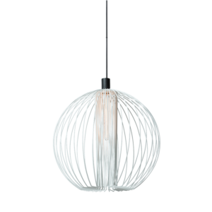 Wever & Ducré Wiro Globe hanglamp 1.0 wit
