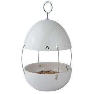 Zone Vogel voedertafel om op te hangen - Kleur Wit
